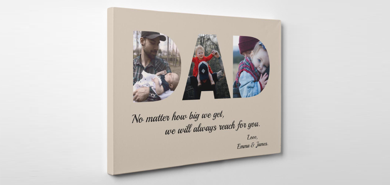 Father's Day Gifts - canvas