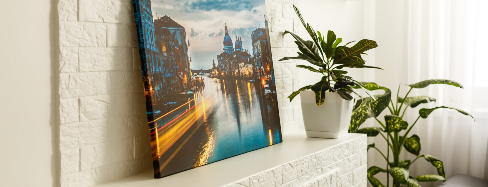 Favorite product of our customers classic canvas leaned agains a wall