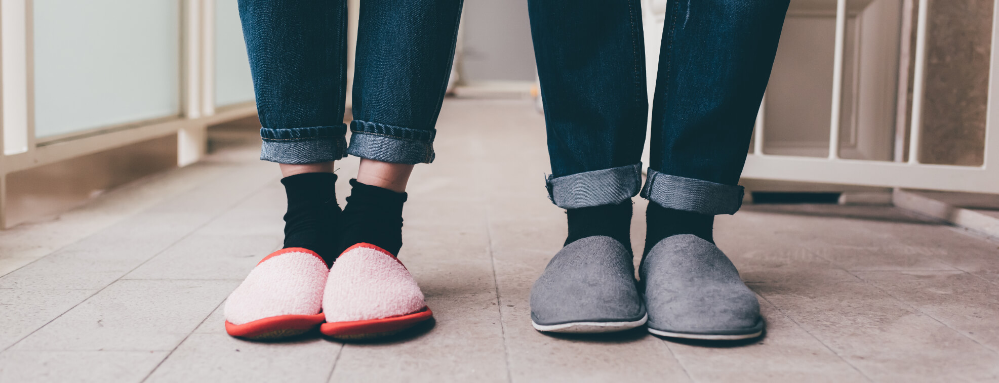 Slippers will keep your Valentine's feet warm