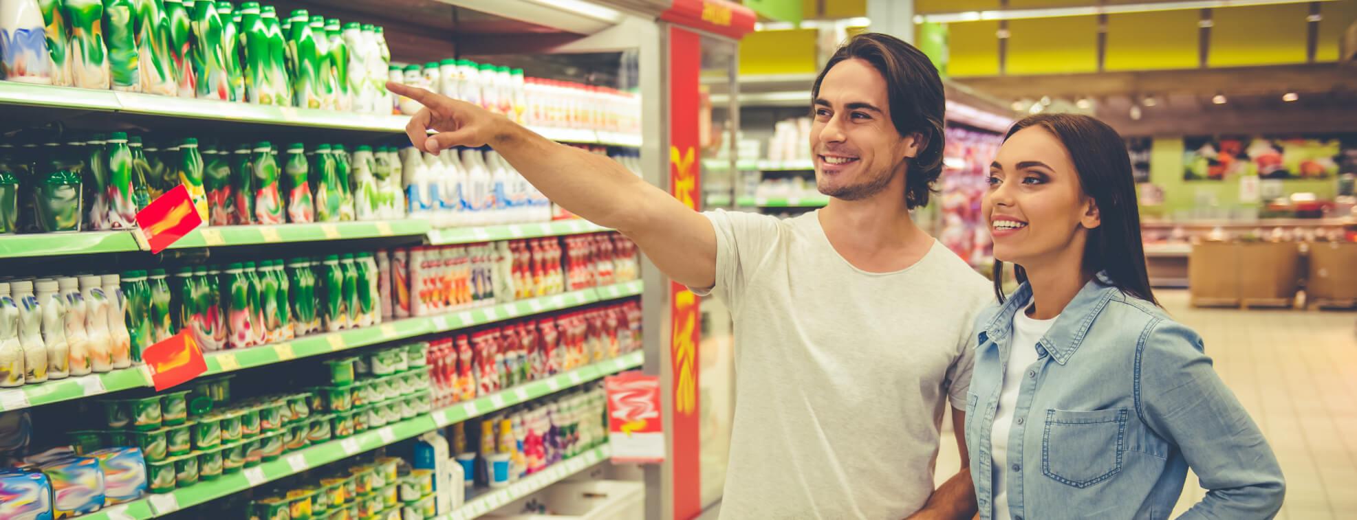 Successful Supermarket